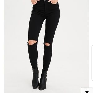 American Eagle Super High-rise Jegging
